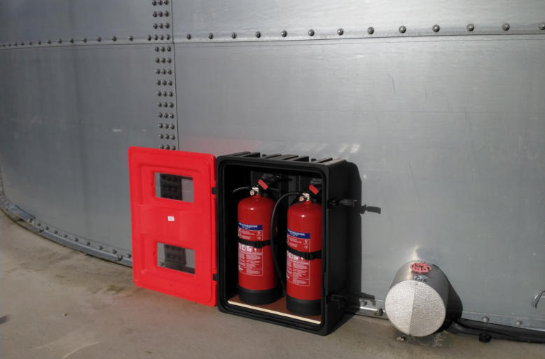 Fire Extinguisher Protection Box